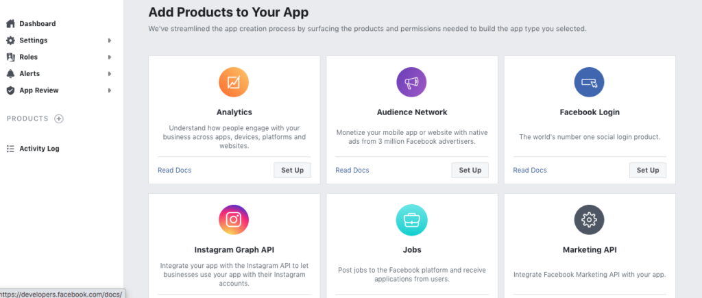Add Products In Your App ID