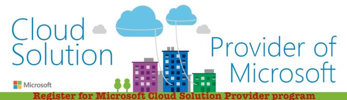 Register for Microsoft Cloud Solution Provider program - Signup & Sign In