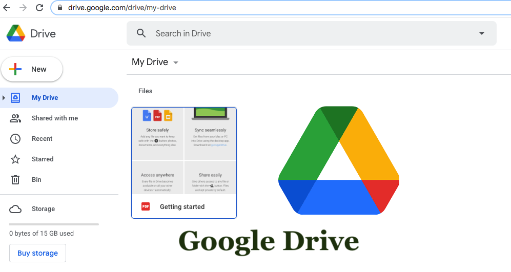Google Drive – 15GB free with document collaboration