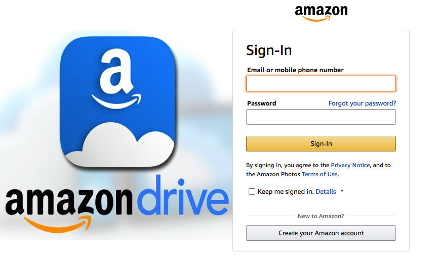 Amazon Drive – 5GB free for Prime subscribers