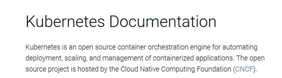 Official documentation of Kubernetes - Certified Kubernetes Application Developer