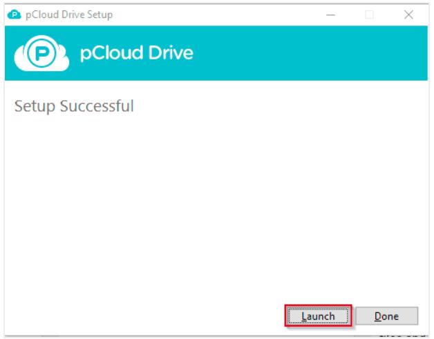 pCloud Drive Setup