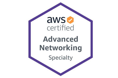 AWS Certified Advanced Networking — Specialty (Best Cloud Certificate for Networking experts)