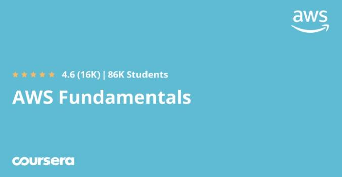 AWS Fundamentals - Coursera course