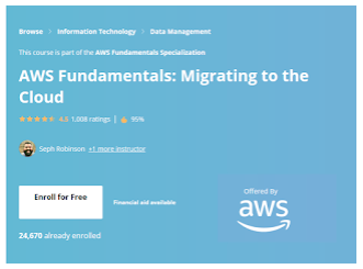 AWS Fundamentals - Coursera online courses
