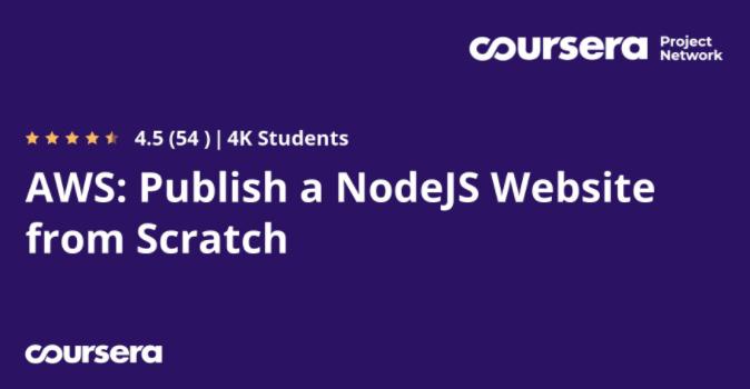 AWS: Publish a NodeJS Website from Scratch
