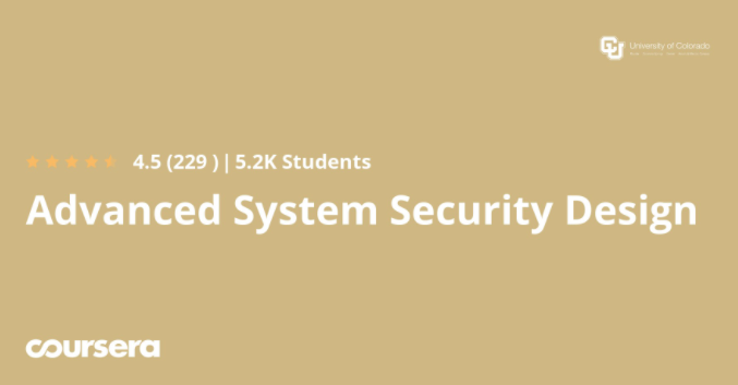 Advanced System Security Design