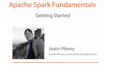 Apache Spark Fundamentals