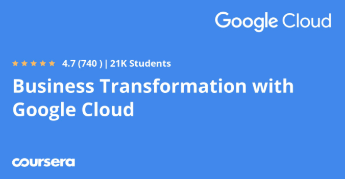 Business Transformation with Google Cloud