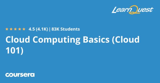 Cloud Computing Basics (Cloud 101)