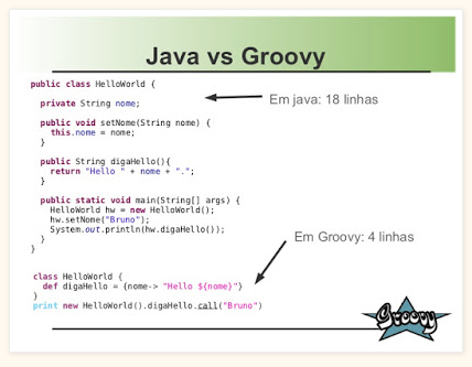 Groovy - Java Developer