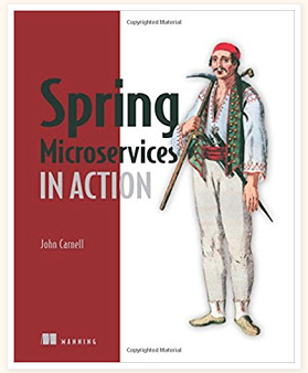 Spring Microservices in Action - Java Developers Books