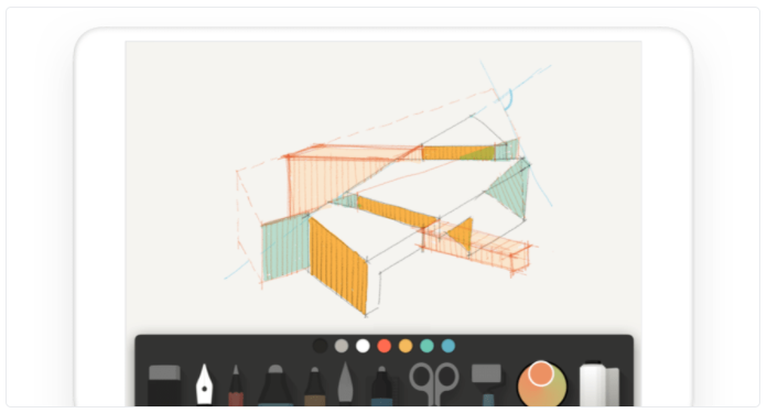 Wetransfer Paper is our drawing app