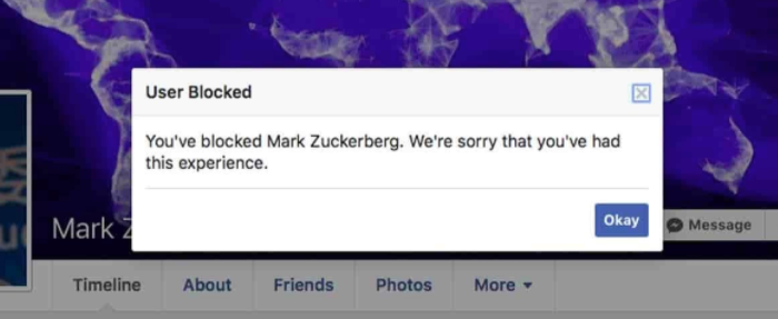 Your Facebook account was temporarily disabled for your own security - Impact of Artificial Intelligence