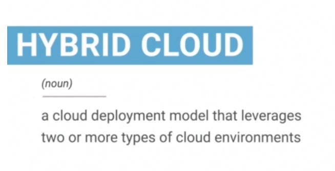 What is hybrid-cloud?