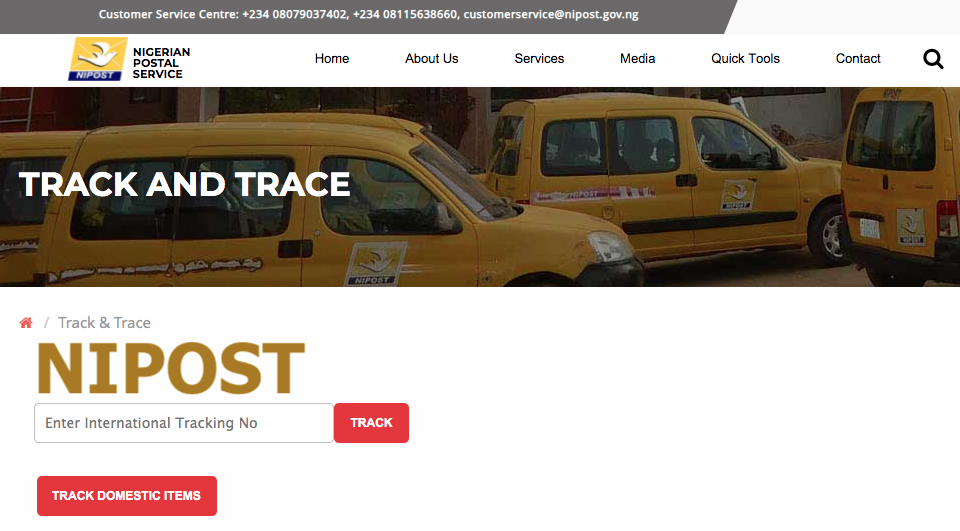 How to Use NIPOST TRACKING AND TRACE